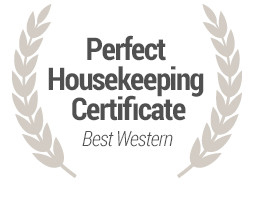 Best-Western-perfect-housekeeping-certificate