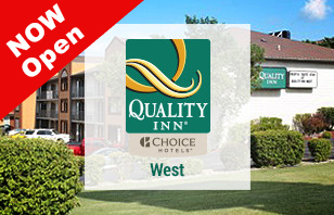 Quality Inn West Branson is OPEN