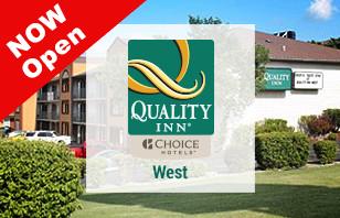 Quality Inn West Branson is OPEN