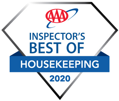 AAA Inspector's Best of Housekeeping 2020 Award