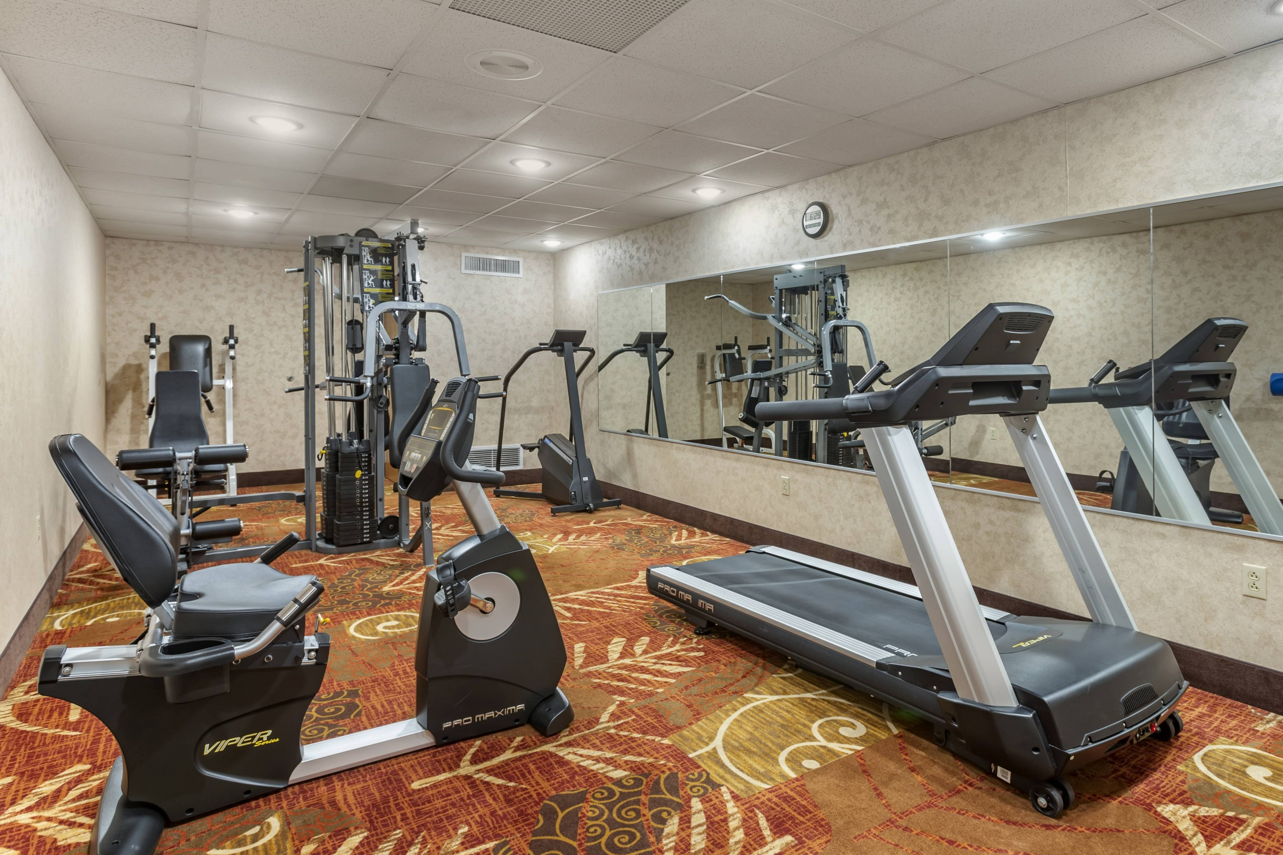 Branson Mo Comfort inn and suites Fitness Room