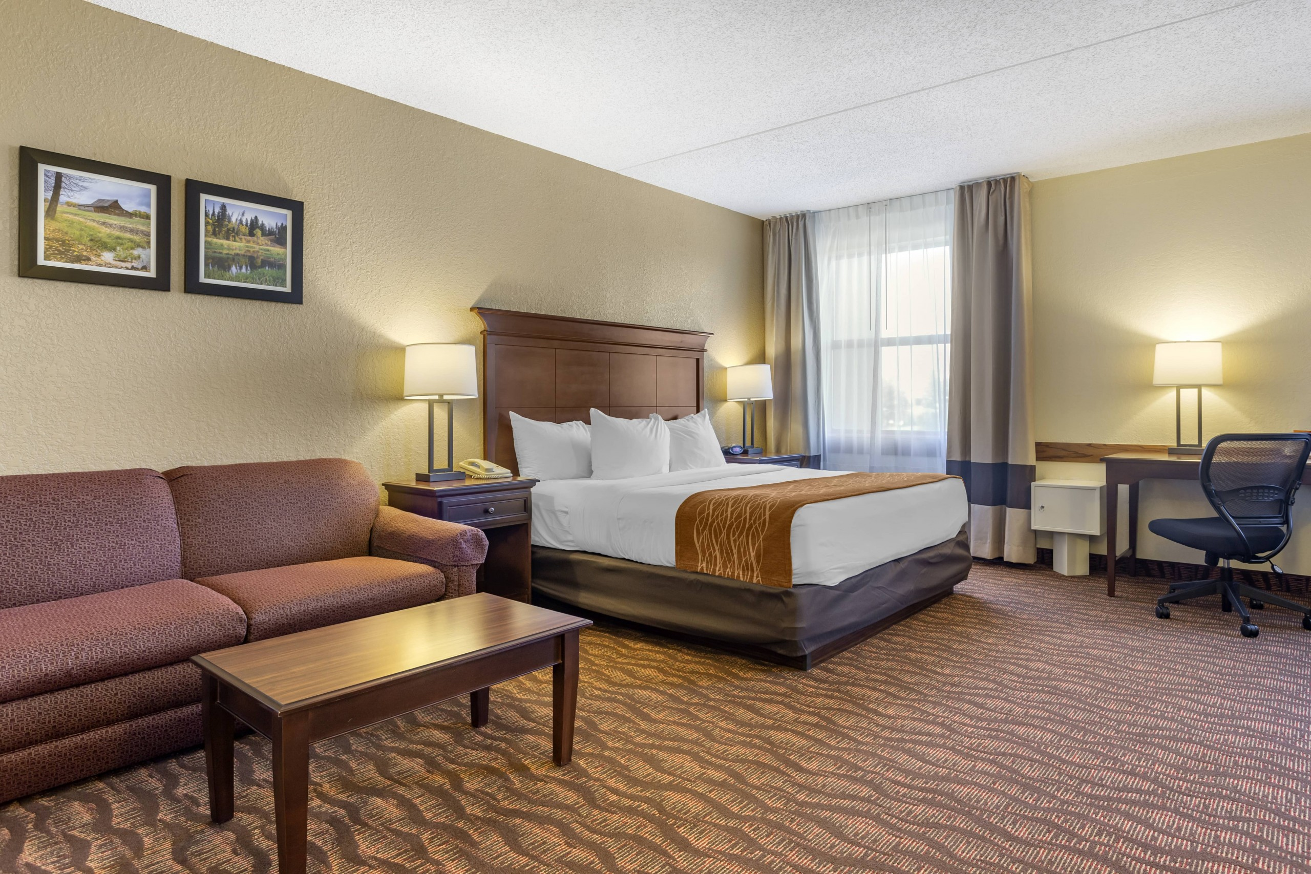 Branson Mo Comfort inn and suites King Suite